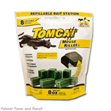 TOMCAT 8x1oz REFILLABLE MOUSE BAIT BAG