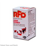 RFD LIQUID WORMER- PYRANTEL PAMOATE - Palmer Farm and Ranch