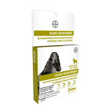 BAYER QUAD DEWORMER DOG 26-60# 2 COUNT - Palmer Farm and Ranch