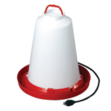 API HEATED CHICKEN WATERER - 3 GALLON - Palmer Farm and Ranch