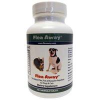FLEA AWAY CHEWABLE TABLETS 100 COUNT - Palmer Farm and Ranch