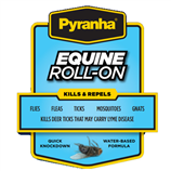 PYRANHA EQUINE ROLL-ON 3OZ - Palmer Farm and Ranch